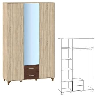 Шкаф 3-х дверный Келли
