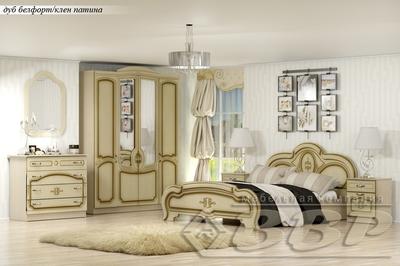 Спальня Сабрина патина