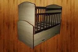 Детская кровать - трансформер КДМ