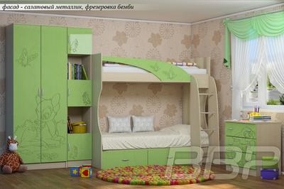Детская спальня Беби 2 МДФ