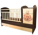 Детская кровать - трансформер КТМ Мишки
