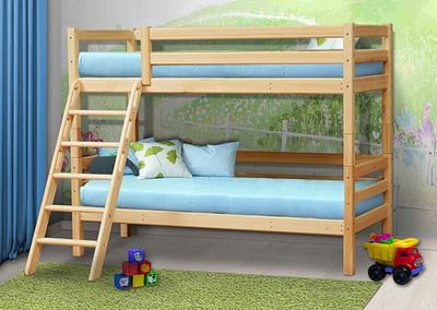 Кровать Фант из массива(вариант №10)
