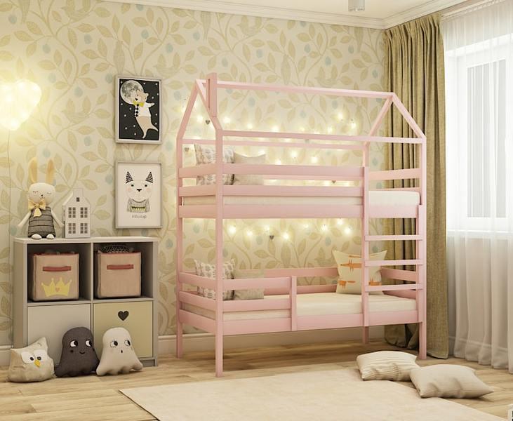 Кровать Домик 7 двухъярусная кровать