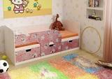 Кровать детская Минима Китти