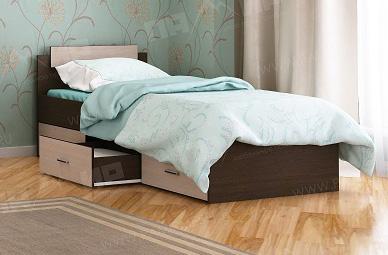 Кровать КР 3Я Памир с тремя ящиками