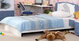 Кровать Бьянка с декоративной накладкой