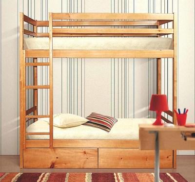 Кровать Фант 2-х ярусная детская деревянная