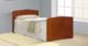 Кровать Фант с фигурной спинкой с матрасом