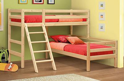 Кровать Фант из массива(вариант №8)