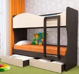 Кровать 2-х ярусная Кузя