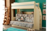 Кровать Омега 17 двухъярусная кровать с диваном внизу