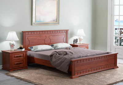 Кровать Венеция М сосна