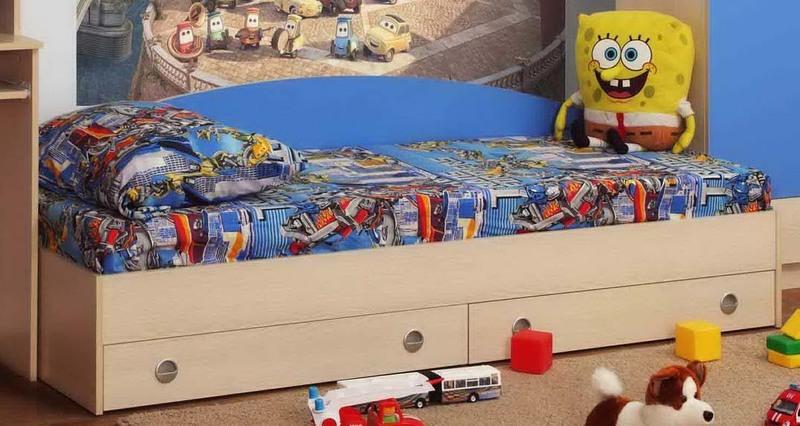 Детская кровать Тони с ящиками