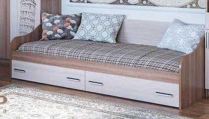 Кровать с ящиками ГОРОД