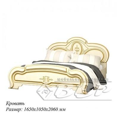 Кровать Сабрина патина ВВР