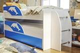 Кровать Омега 19 двухъярусная