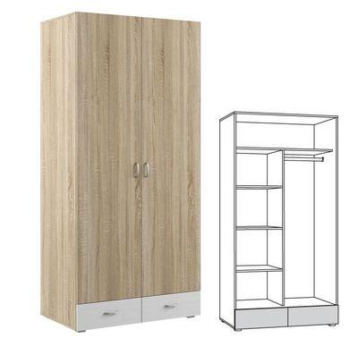 Шкаф 2-х дверный Линда