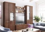 Модульная гостиная Ливорно орех донской комплект-2