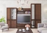 Модульная гостиная Ливорно орех донской комплект-1