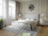 Кровать Мишель пуговицы с подъемным механизмом