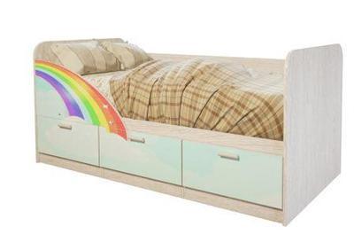 Кровать детская Минима Радуга