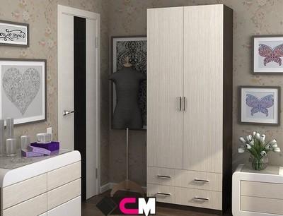 Шкаф 2-х створчатый Дуэт