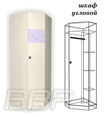 Шкаф угловой Герда