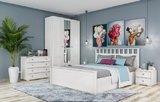 Спальня Ричард ясень анкор светлый комплект-2